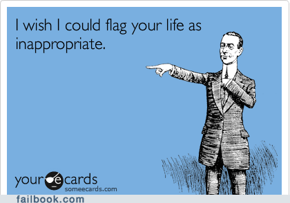 ecards flag inappropriate oh snap - 5741575168
