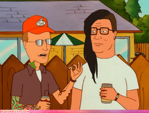 Deadmau5,King of the hill,skrillex,TV