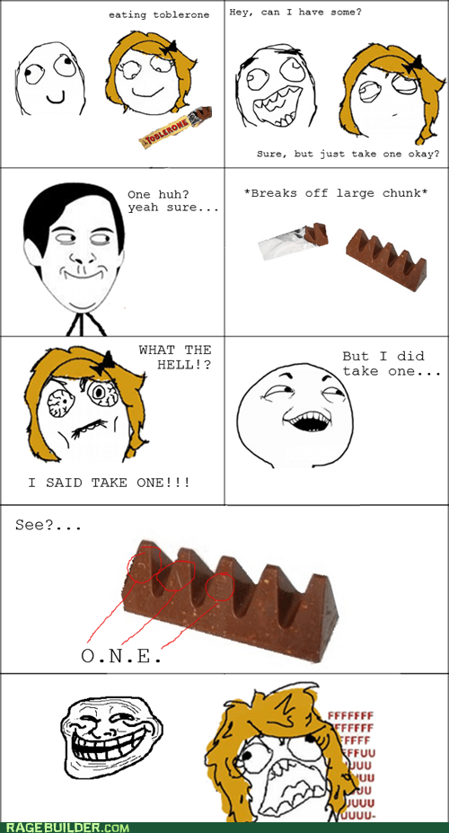 candy,I see what you did there,Rage Comics,toblerone