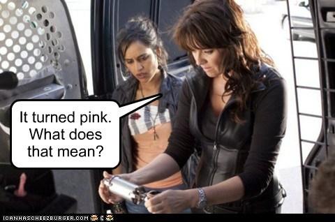 agam darshi amanda tapping congratulations helen magnus kate freelander maybe pink pregnancy test Sanctuary - 5741978880