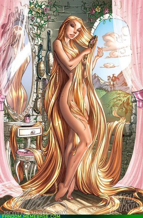 classics,fairy tales,Fan Art,rapunzel