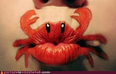 lipstick,makeout,why not zoidberg,wtf