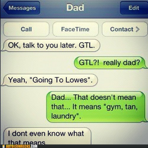 bros dad going to lowes gtl gym tan laundry jersey shore parenting