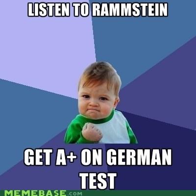 german rammstein studying success kid - 5742131968