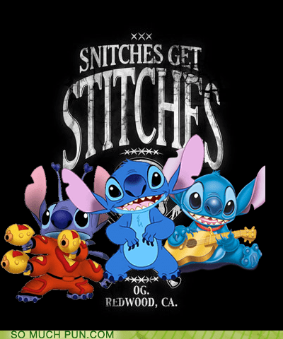 disney double meaning lilo and stitch literalism snitches snitches get stitches stitch stitches - 5742210304