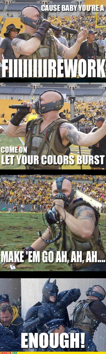 bane batman fireworks katy perry movies Super-Lols TEH GODDAMN BATMAN - 5742210816
