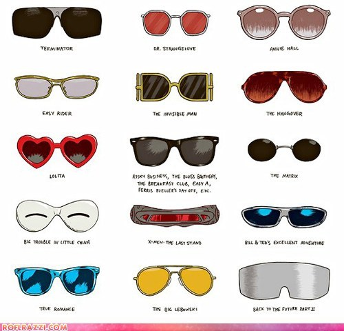 art awesome funny Movie sunglasses - 5742331648