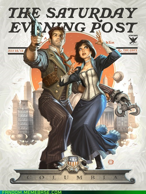 bioshock bioshock infinite Fan Art video games - 5742345728