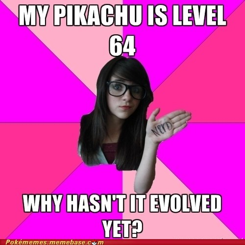Evolve meme Memes nerd not really pokefan thunder stone - 5742753024