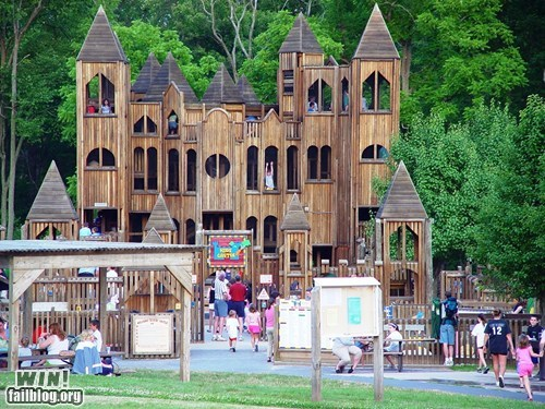 castle fort nostalgia playground whee - 5742918400