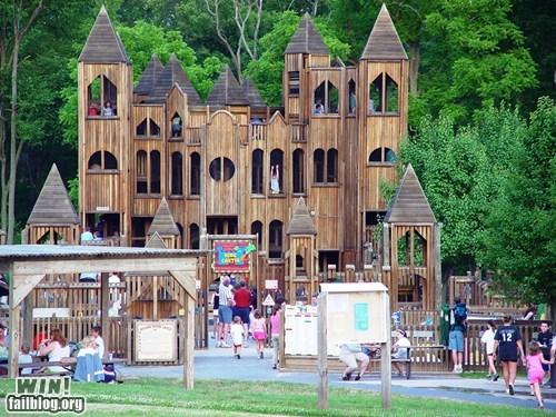 castle fort nostalgia playground whee - 5742918400