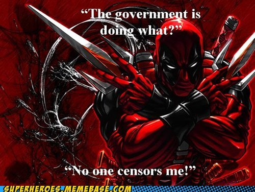 Acta Awesome Art censor congress is retarded deadpool government - 5742974208