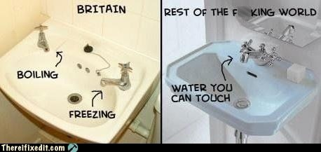 bathroom britain england faucet g rated Hall of Fame international sink there I fixed it water world - 5742990336