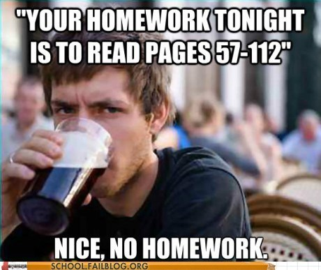 g rated homework lazy college macro nope reading School of FAIL - 5743023360