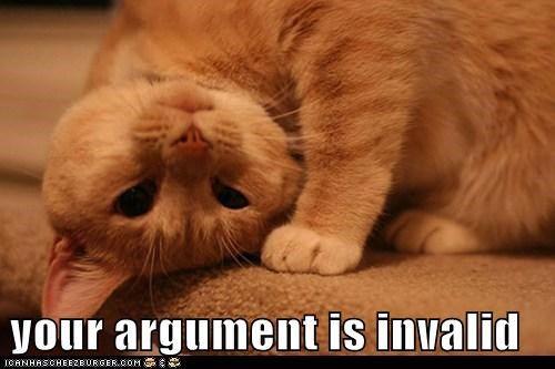 animals argument is invalid cat I Can Has Cheezburger invalid Invalid Argument - 5743595008