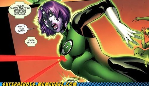 bewb Green lantern laser Straight off the Page wtf