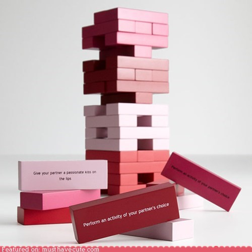 blocks game jenga naughty sex Valentines day