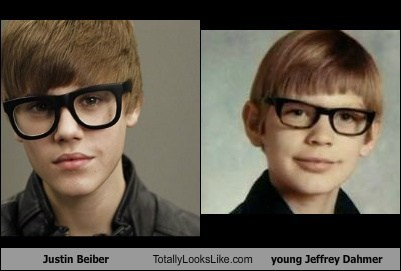 Justin Beiber Totally Looks Like young Jeffrey Dahmer