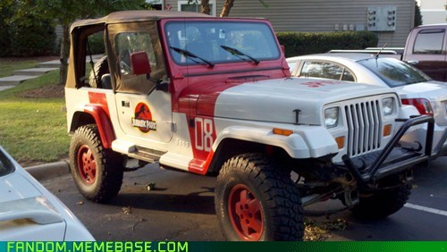 best of week,car,fandom,It Came From the Interwebz,jeep,jurassic park,movies