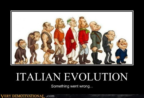 evolution,hilarious,Italy,political-leaders,wtf