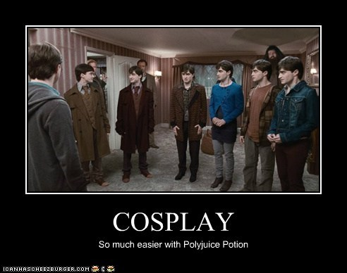 COSPLAY So much easier with Polyjuice Potion