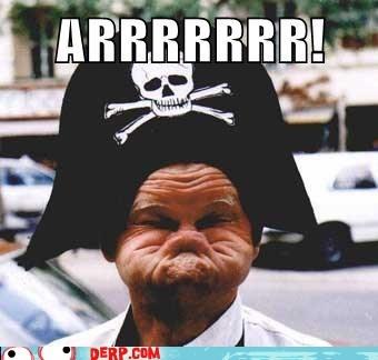arrrrr best of week derp duck face Pirate - 5744892416