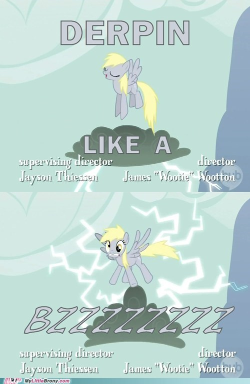 derpy hooves epic Like a Boss like a bzzzz like a derp meme TV - 5744901632