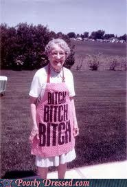 apron,grandma,grandma is saucy