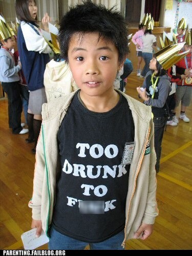 bad shirts for children cut him off had enough