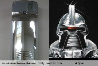air freshener,cylon,funny,TLL