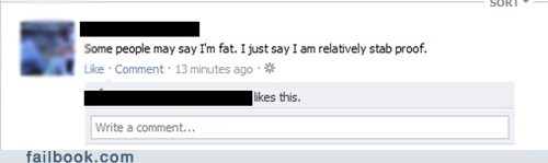 fat perspective stab witty status