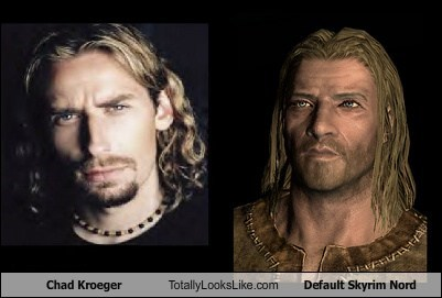 chad kroeger,funny,nord,Skyrim,TLL