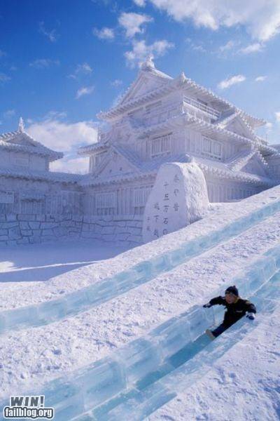 slide snow whee winter - 5746852864