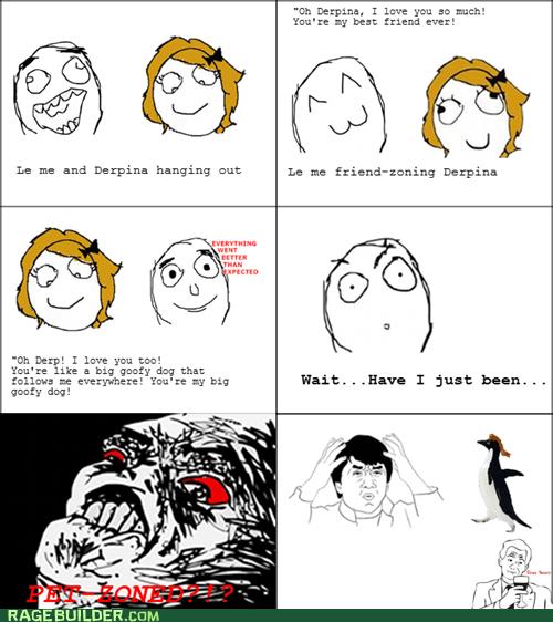 friend zone Rage Comics socially awkward penguin - 5747157248