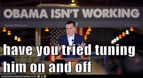 barack obama Mitt Romney political pictures - 5747182848