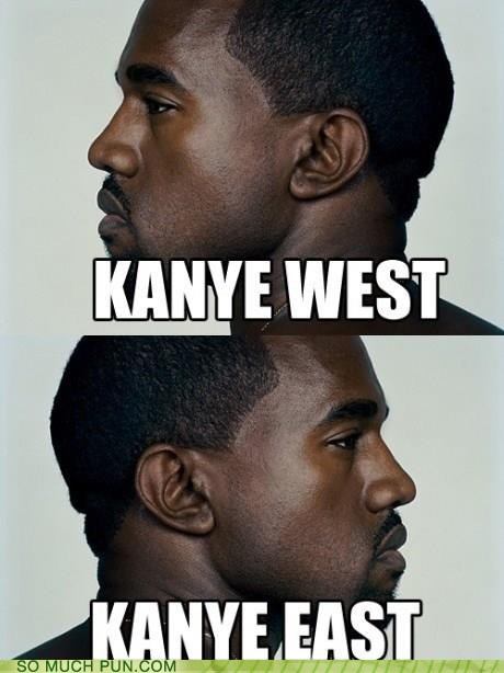 direction,double meaning,east,facing,Hall of Fame,kanye west,literalism,name,surname,west
