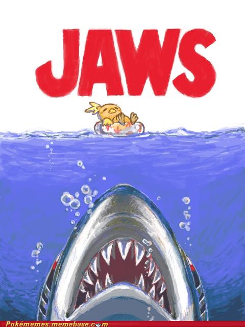 art classic crossover crunch jaws Movie sharpedo torchic