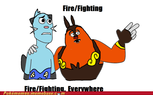 3rd gen 4th gen 5th gen annoying firefighting Memes starters type combinations - 5747325184