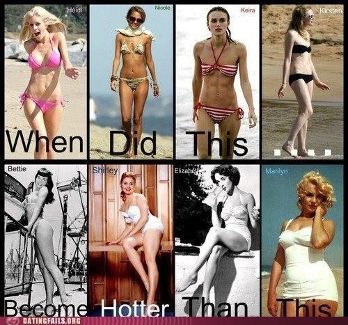 body image Hall of Fame hey ladies hot hotness ladies standards - 5747408384