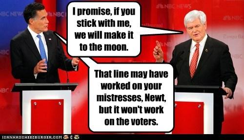 Mitt Romney newt gingrich political pictures - 5747724800