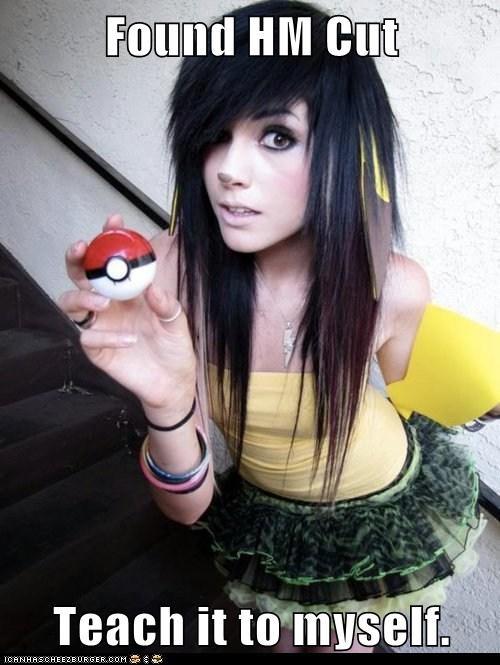 cut hm Pokémon pokemon poser weird kid
