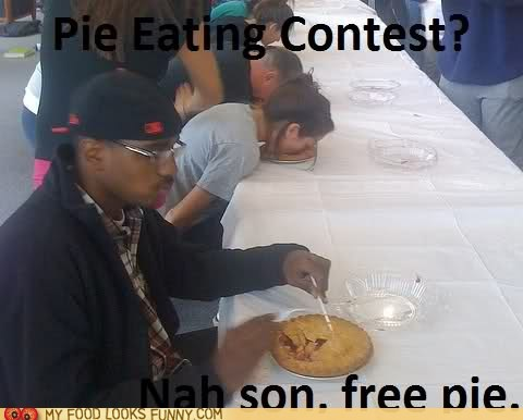 contest eating free game pie system