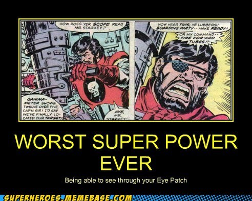 eyepatch Super-Lols superpower wtf - 5747765504