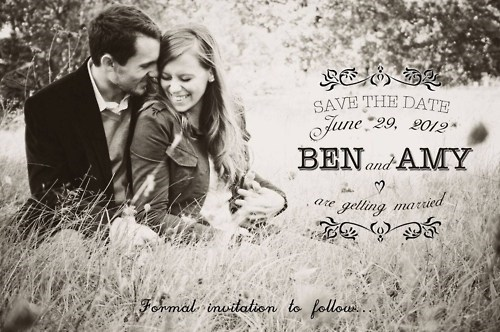 run save the date when you see it