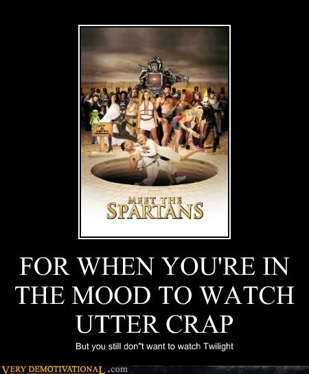 wtf twilight meet the spartans - 5748377600