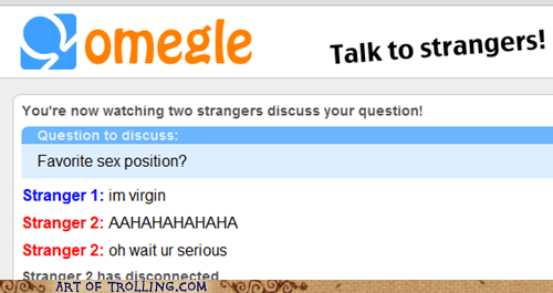 Omegle,position,spymode,virgin