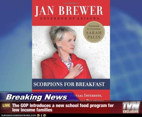 GOP,Jan Brewer,political pictures,scorpions