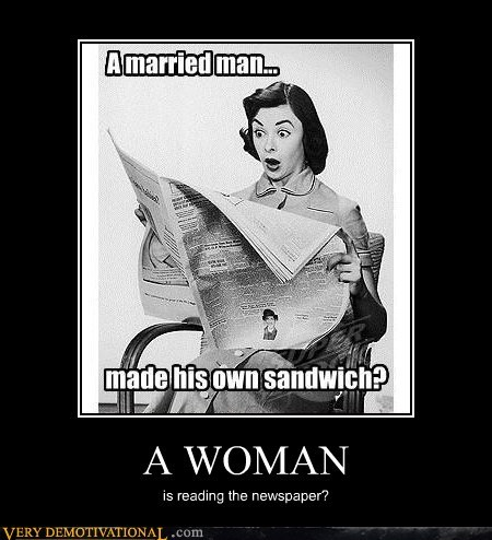 hilarious,kitchen,man,married,sandwich,woman
