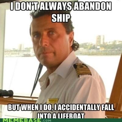 captain,lifeboat,Memes,titanic
