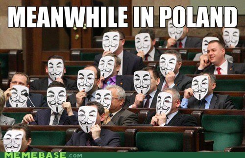 anonymous parliament poland Rage Comics - 5749432064